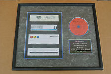 MILEY CYRUS's  DAD/ BILLY RAY CYRUS #1 SINGLE COMMEMORATION RECORD! C338