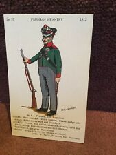 Card Rene North 37 Prussian Infantry No 4