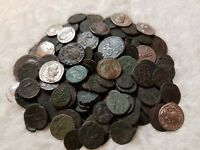 Ancient Coin Lot- Roman,Greek,Byzantine** Buy 50 Get FREE Silver Ancient Coin!*