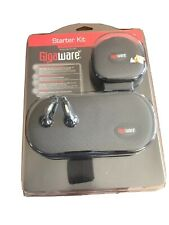 Gigaware Starter Kit For Sony PSP Case Cable Soft Cloth Earbuds Screen Protector