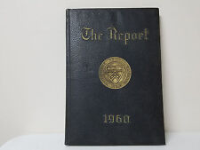 University of Pennsylvania Penn - 1960 Law School Yearbook - The Report