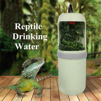 Automatic Electric Reptile Lizard Chameleon Water Drinking Fountain Bowl