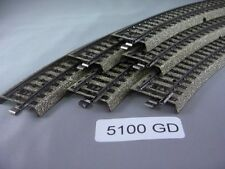 Ee 5100 Gd Good Marklin Ho M Standard Curve Track Pk/6 Good Condition