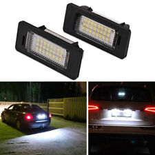 AUDI Xenon BRIGHT! WHITE LED License Number Plate Light A4 S4 B8 A5 S5 TT Q5.