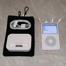 UPGRADED Apple iPod 5th Gen Video (200GB) White, 2000mAh, Wolfsen Audio Chip WAC