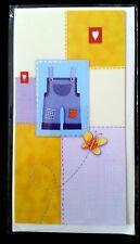 E56) Carte Baptême Garçon + enveloppe - Neuf