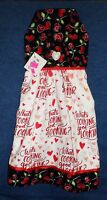 **NEW** Handmade Valentine's Day Hearts & Roses Hanging Kitchen Hand Towel #1516