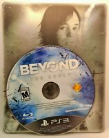 Beyond Two Souls Game Disc with Steel Book PS3 PlayStation Sony Insert No Manual