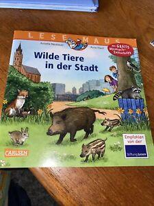 LESEMAUS, Band 19: Wilde Tiere in der Stadt von Neubauer... Kinderbuch