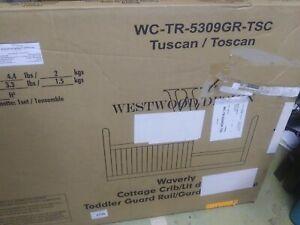 Westwood Design cottage crib guard rail Tuscan