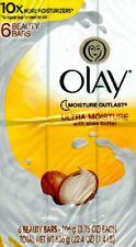 Olay Ultra Moisture Beauty Bar w/Shea Butter  3.75 oz / 106 g - ( 6 Bars )