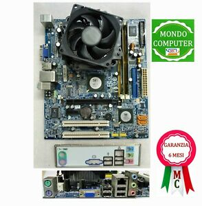 SCHEDA MADRE SOCKET 775 GIGABYTE GA-T671MG +CPU INTEL PENTIUM DUAL CORE+2 GB RAM