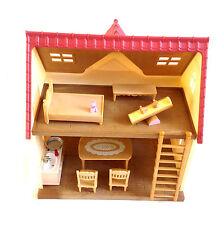 """Sylvanian families house playset avec mobilier et accessoires lot ensemble sympa!"""""""