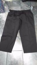 Nwt Adar Womens Plus Scub Pants Black 4X Classic fit
