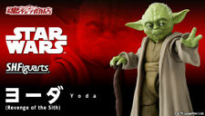 BANDAI Premium S.H.Figuarts Yoda (STAR WARS:Revenge of the Sith) Action Figure