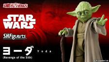 BANDAI Premium S.H.Figuarts Yoda (STAR WARS:Revenge of the Sith) Action Figure