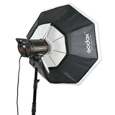 "Godox Octagon Softbox 37"" 95cm Bowens Mount for Studio Strobe Speedlite Flash"
