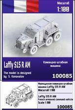 """ZEBRANO"" 100085 Laffly S15 R AM French armoured command vehicle 1/100"