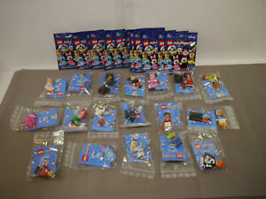 LEGO 71012 Mini Figurines 18 X Complete With Leaflet + Boxed Disney Mickey
