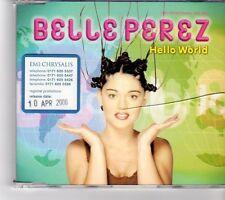 (FP190) Belle Perez, Hello World - 2000 DJ CD