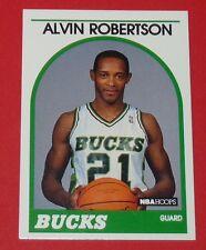 # 350 ALVIN ROBERTSON BUCKS MILWAUKEE 1989 NBA HOOPS BASKETBALL CARD