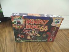 Donkey Kong 64 Nintendo 64 Complete VGC boxed w/Expansion Pak Collectors Ed Rare