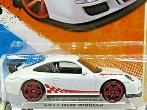 HOT WHEELS VHTF 2011 NEW MODELS SERIES PORSCHE 911 GT3 RS