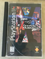 ESPN / ESPN2 Extreme Games Playstation 1 PS1 Racing Video Game Complete & Manual