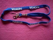 NOKIA Schlüssel + Handyband in BLAU  / NEU