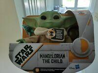 """Star Wars Mandalorian The Child 7"""" Talking Plush Toy Hasbro baby yoda NEW"""