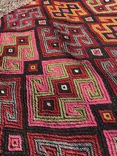More details for vintage 20th century hand knotted saddle bag carpet rug