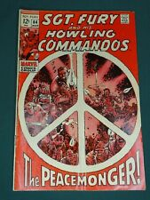 MARVEL COMICS GROUP SGT. FURY AND HIS HOWLING COMMANDOS #64 3/1969 AWESOME COPY!