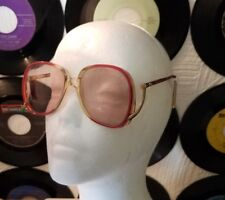 Vintage Eye Glasses - Pink Tinted Womens Original Prescription Hipster #17