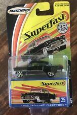 Matchbox Superfast Black 1956 Cadillac Eldorado NEW Limited Edition 1:64 Scale