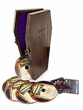 WWE UNDERTAKER THE STREAK 21-1 LIMITED DVD EDITION WOODEN COFFIN BOXSET