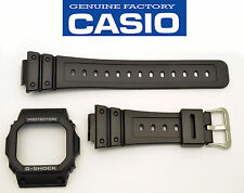 Casio G-Shock G-5600E GWM-5600 GWM-5610 watch band & bezel black case cover