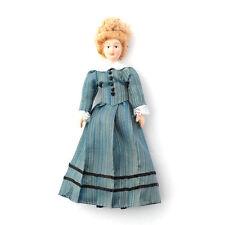 MISS Mason doll, dolls house miniature 1.12 échelle