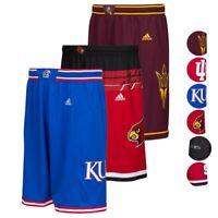 NCAA Adidas Men's Performance Premier Basketball Shorts Collection (S-2XL)