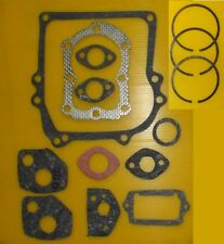 BRIGGS & STRATTON  2HP 2.5HP 3HP 3.5HP GASKET SET AND PISTON RINGS