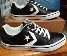 Converse El Distrito Black Authentic Leather Men's Sneakers-161608C size 9.5