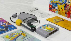 Hey You, Pikachu! (2000, N64) Complete CIB w/ Game, Mic+Foam, VRU, Very Good!