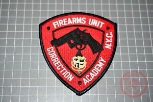 NYC Correction Academy Firearms Unit Patch (B-NY)