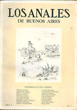 LOS ANALES DE BUENOS AIRES # 3  LITERARY MAGAZINE JORGE LUIS  BORGES DIRECTOR
