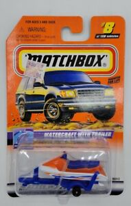 Matchbox 2000 Ocean Explorer Series 2 #8 Watercraft With Trailer