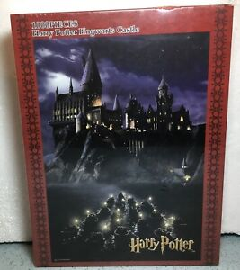 2016 BEVERLY ENT. HARRY POTTER 1ST YEAR HOGWARTS CASTLE 1000PC JIGSAW PUZZLE NEW
