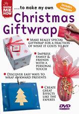 DVD:SHOW ME HOW - CHRISTMAS GIFTWRAP - NEW Region 2 UK