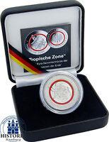 5 Euro Tropische Zone Gedenkmünze Deutschland 2017 Münze im Etui mit Zertifikat