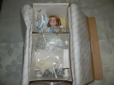 Danbury Mint The Storybook Collection Little Bo Peep W/Coa, New In Box