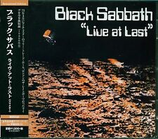 BLACK SABBATH LIVE AT LAST OZZY OSBOURNE 2015 JAPAN VERSION OF U.K. REMASTER