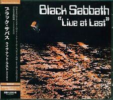 BLACK SABBATH LIVE AT LAST OZZY OSBOURNE 2015 JAPAN VERSION OF U.K. REMASTER